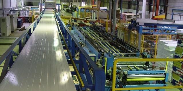 Автоматизация производства сэндвич-панелей